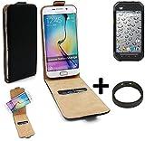 TOP SET: 360° Flipstyle Schutzhülle Smartphone Tasche
