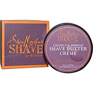 Shea Moisture Coconut & Hibiscus Shave Butter Creme 6oz
