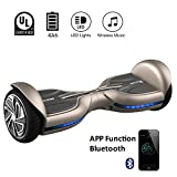 EVERCROSS Hoverboard Diablo 6,5' Smart Skateboard...