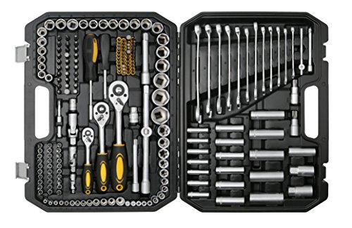 bohell SH215-Werkzeugkoffer mit Steckschlüsselsatz, und andere, 215Teile