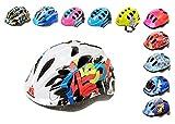 Casco da bicicletta per bambini Meteor, Skater Casco, Casco di sicurezza Meteor, Lettere, S