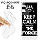 Schutzhülle + Displayschutz Gehärtetes Glas BQ AQUARIS