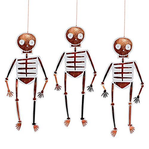 Hängendes Skelett Deco S/8 (Halloween-dekoration Shop)