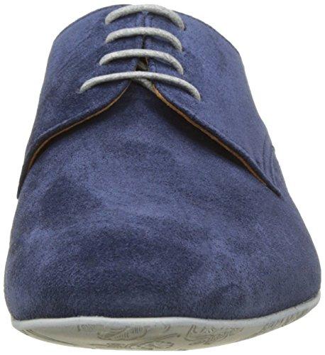 Pellet Douglas E17, Derbys Homme Bleu (Velours Navy / Sml Gris)
