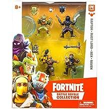 Fortnite - Blister 4 Figuras 7 cm, personajes edición limitada (Giochi Preziosi FRT14000)