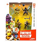 Fortnite Raptor, Rust Lord, Rex et Raven Battle Royale-Pack Squad 4 Figurines, 63508, Collectionner