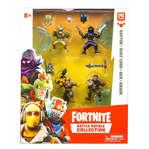 Fortnite Raptor, Rust Lord, Rex et Raven Battle Royale-Pack...