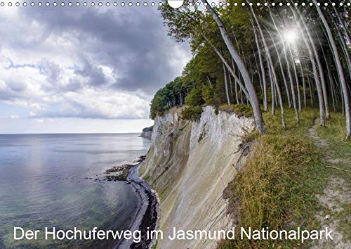 Der Hochuferweg im Jasmund Nationalpark (Wandkalender 2020 DIN A3 quer): Eine Wanderung an der Kreideküste des Nationalpark Jasmund auf der Insel Rügen. (Monatskalender, 14 Seiten ) (CALVENDO Orte)