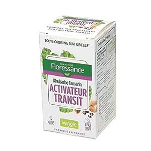 FLORESSANCE Gélules végétales activateur transit - 22.27 g