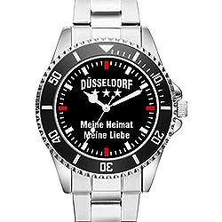 Düsseldorf - Meine Heimat Meine Liebe - Herren Armbanduhr 2289