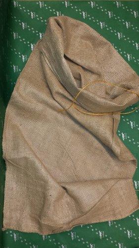 Weihnachtsmannsack Jutesack Nikolaussack MAXI ca. 65x135 cm groß incl. 80 cm Verschlußschnur aus Sisal - starkes Gewebe H335