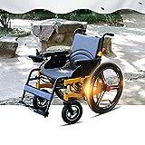 Elektrischer Rollstuh Mit 360 ° Intelligentem Joystick, Geschwindigkeitsanzeige, 24-Zoll-Rad Auf Alle Anderen Straßen Anwenden Gras, Rampe, Verzögerungsstreifen