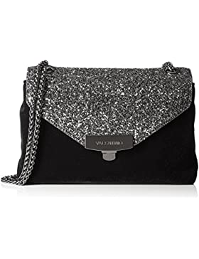 Mario Valentino Damen Velvet Business Tasche, 5.0x13.5x20.0 cm