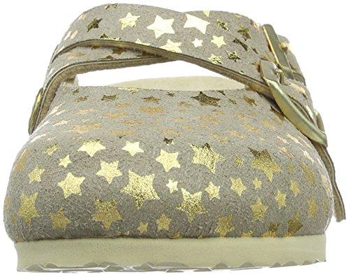 Birkenstock Dorian Mikrofaser, Sabots Fille Or - Gold (Starry Sky Gold)