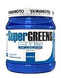 Yamamoto Nutrition SuperGREENS integratore multivitaminico e multiminerale da frutta e verdura gusto Frutti Rossi 200 g