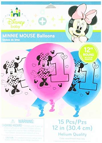 Minnie Mouse Diversión para ser un Globos (15 count)