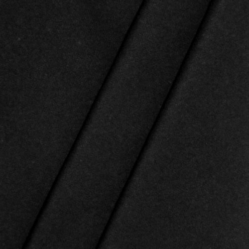 Kostüm Max Muster - B1 Bühnen - Molton Stoff Meterware Breite 300cm Schwarz
