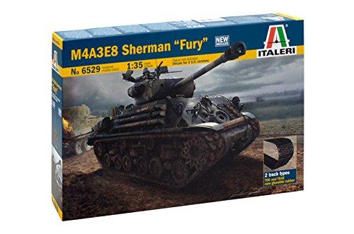 Italeri 6529 - M4a3e8 Sherman 'Fury' Model Kit  Scala 1:35