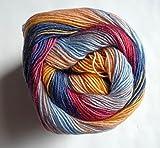 150 g Jawoll Magic 6-fädig Sockenwolle, Fb. 0150 - neue Farbe 2015