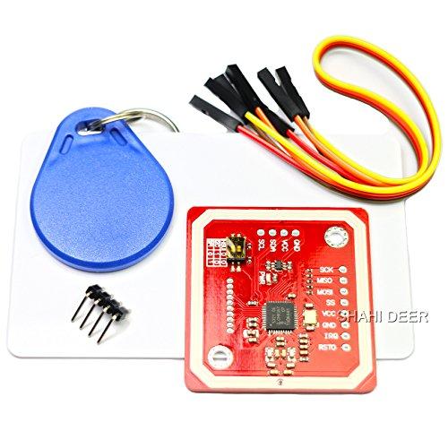 SHAHIDEER Kits Lectura Escritura NXP PN532 NFC RFID