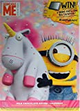 Minions Pink Unicorn Girls Christmas Chocolate Advent Calendar