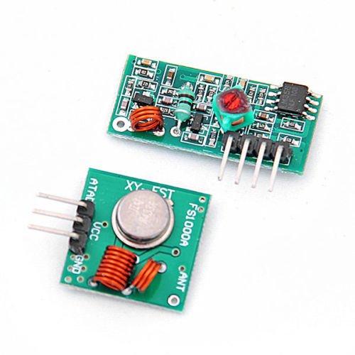 Preisvergleich Produktbild Kabellos 433 Mhz RF Sender Empfänger Receiver Module Arduino Wireless Transmitter Set