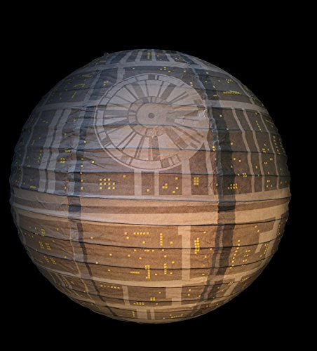 Image of Star Wars Death Star Paper Light Shade