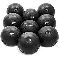 #DoYourFitness® Slamball/Medizinball 0,5kg bis 10kg - Robuste & strukturierte Oberfläche - ohne/kein Rückprall : idealer Fitness Ball für Kraft-, Ausdauer- & Functionaltraining