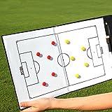 Faltbare-Taktikmappe für die Spielanalyse auf dem Platz