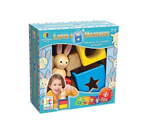Smart Games Bunny Boo, juego de ingenio de madera...