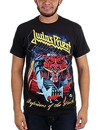 Judas Priest - Defensores de los hombres de Jumbo T-shirt de Negro -