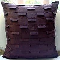 progettista Prugna Cuscini Accento, Nervature Tessuto Cuscini