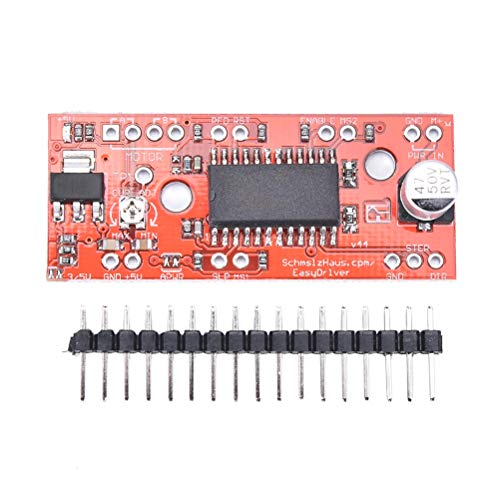 3d Printer Parts Accessories - 1pc A3967 Easydriver Shield Stepper Motor Driver Module V44 Printer - Ntc Portabl Nema Variable Motor Motor Wall Driver Pp2000 Board Motor Mini Heater Heater Atmeg