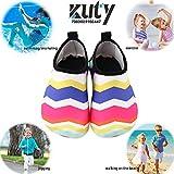 Bambini Ragazze Scarpe da Mare Scarpette di Aqua da Surf da Spiaggia per Sportive Acquatici Scarpe da Immersione (30-31 EU, Colour - 1)