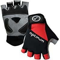 Optimum Boy's Hawkley Fingerless Road Gloves