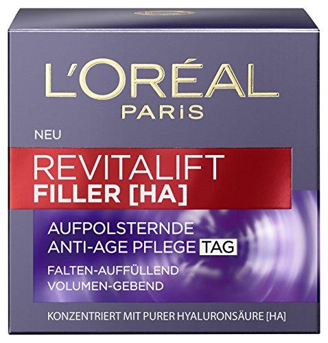 L'Oreal Paris Revitalift Filler [HA] Anti-Age Tagespflege, mit Hyaluronsäure, füllt Falten auf und...