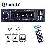 POMILE Autoradio Bluetooth,Radio de Voiture Stéréo de Voiture FM Récepteur Lecteur...