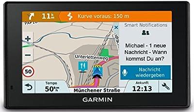 Garmin DriveSmart 51 LMT-S - Navegador para automóvil (Todo Europa, pantalla de 5