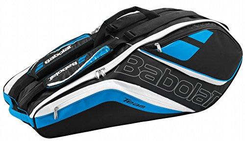 Babolat Schlägertasche Racket Holder X6 Team Line Blue, blau, 76 x 30 x 32 cm, 73 Liter, 751121-136