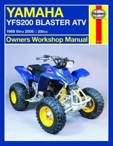 Yamaha YFS200 Blaster ATV, 1988 Thru 2006, 200CC (Haynes Owners Workshop Manual) by Max Haynes (2008-05-15)