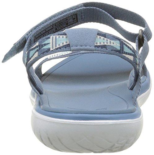 Teva Terra-Float Nova, Sandales Bride Cheville Femme Bleu (Mosaic Vintage Blue/Mvbl)