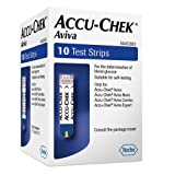 Accu-Chek Aviva Test Strips Pack of 10 (Eligible for VAT relief in the UK)