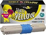 Yellow Yeti 44973533 (1500 Seiten) Gelb Premium Toner kompatibel für Oki C301 C301dn C321 C321dn MC332dn MC342dn MC342dnw MC342dw MC342w [3 Jahre Garantie]