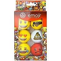 Emoji Official Fun palline da golf divertenti (confezione da 6)