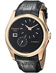 Tissot Hombre t0354283605100Couturier analógica pantalla Swiss–Reloj automático negro