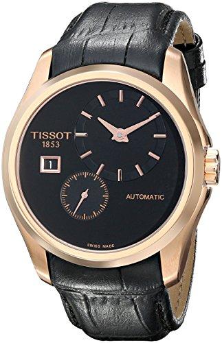 Tissot Reloj Cronógrafo para Mujer de Automático con Correa en Cuero T035.428.36.051.00