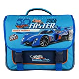 CARTABLE 38CM BLEU-HOT WHEELS MATTEL VOITURE