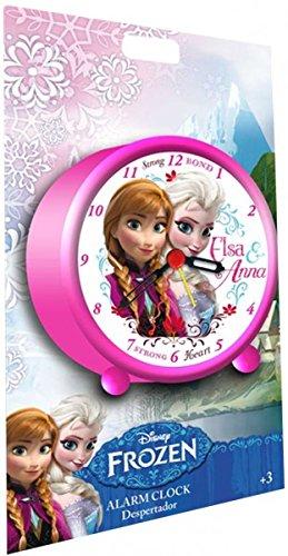 Disney Wecker mit Frozen / Die Eiskönigin Motiv