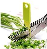 Best Herb Scissors - Harikrishnavilla Multi-Function 5 Blade Vegetable Stainless Steel Herbs Review