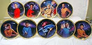 Star Trek 25TH Anniversary Commemorative Hamilton Collection Plates x 9